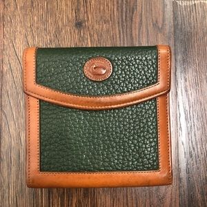 Dooney & Bourke Vintage Med Size Wallet Leather